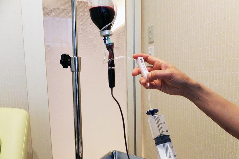 血液オゾンクレンジング治療方法